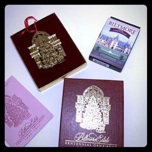Biltmore Estate 1995 Centennial Ornament & Cards